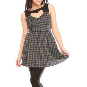 Houndstooth Heart Dress